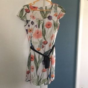 H&M Short Flower Dress